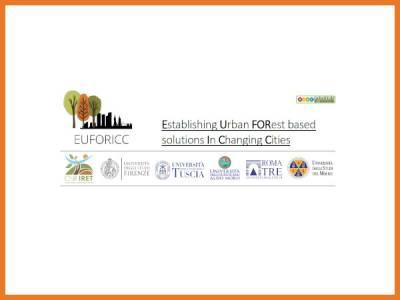 Foreste Urbane in Italia: sinergie tra amministrazioni e ricerca, prospettive nell'ottica del Green Deal